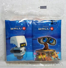 DISNEY PIXAR WALL E WALL-E MO M-O SET OF 2 WIPES PACKS NEW MISP THINKWAY TOYS B