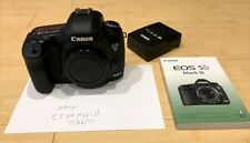 Canon EOS 5D Mark III 22.3MP Digital SLR Camera - Black (Body Only) + Extras