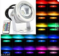 Strahler LED RGB für Draußen 10W mit Fernsteuerung