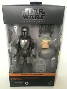 """Star Wars The Mandalorian Black Series 6"""" - Din Djarin And The Child Exclusive!"""