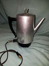 Vintage Mid - Century Westbend Electric Countertop Coffee Maker Percolator  Pot