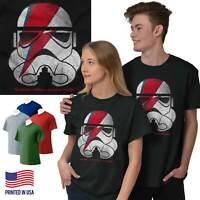 Ground Control Ziggy Space Galaxy Movie Gift Short Sleeve T-Shirt Tees Tshirts