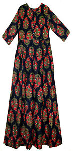 Indian Dress Rayon Retro Women Ehs Hippy Retro Vestir Blusa Boho Ethnic Vintage