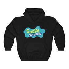 Spongebob Squarepants Social Distancing Mashup Hoodie