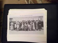 74-9 ephemera reprint picture crumlin trinity seaside trip 1936