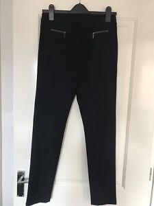 Marks & Spencer Black Treggings- Size 10 Medium