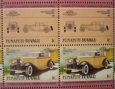 1932 NASH SPECIAL EIGHT Car 50-Stamp Sheet / Auto 100 Leaders of the World