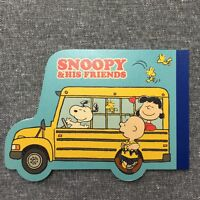 Peanuts Gang Snoopy and His Friends Notepad - CR13348