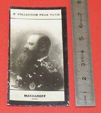 PHOTO IMAGE FELIX POTIN 2ème ALBUM 1907 AMIRAL MAKAROV GUERRE RUSSIE-JAPON