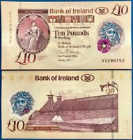 NORTHERN IRELAND 10 POUND BANK OF IRELAND BOI 2017 2019 P NEW POLYMER UNC