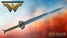 "WONDER WOMAN ""GOD KILLER PROP REPLICA SWORD"" Factory Entertainment NEW IN BOX"
