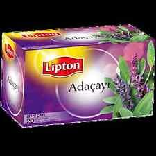 Lipton Instant Sage Tea  20 Teabags Herbal/Tisane Bagged 03/2016