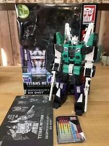 Titans Return Six Shot 100% Conplete With Box/Directions/Card.