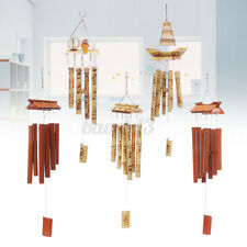 Bamboo Wind Chimes Bell Handmade Hanging Garden Yard Ornament Outdoor Decoration