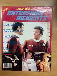"*RARE* JAN 1984 STAR TREK ""ENTERPRISE INCIDENTS"" #13 USA MAGAZINE (P4)"