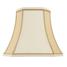 Endon Camilla lampshade 16 inch Two-tone cream faux silk 315mm H x 410mm D max
