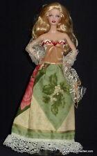 Handmade Christmas Barbie Dress Gown Custom USA Seller Unique Designs! #B29