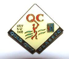 Quad City John Deere Classic 1998 Pga Golf Tournament Lapel Hat Pin Pga Logo jd