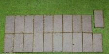50mm x 25mm LASER CUT MDF 2mm Wooden Bases for Wargames