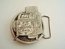 1976 Great American Belt Buckle Slot Machine Collector's Button #'d