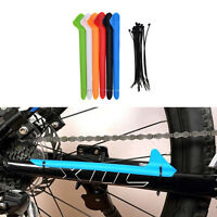 MTB Bike Bicycle Frame Chain Guard Chain Stay Rear Fork Pad Protector Cover Fq