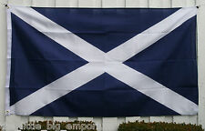 Big 1.5 Metre Scottish Flag 3x5ft - Scotland Alba Scots - Large Size