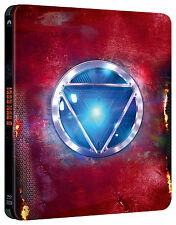 Iron Man 3 3D + 2D Blu Ray Steelbook™ Limited Collector's Edition Region Free