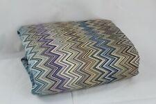 Missoni Home John Collection Zigzag  FULL /QUEEN Duvet Cover Purple Multi $930.