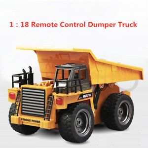 Remote Excavator Bulldozer RC Construction Tractor Vehicle Car Toy  Boy's Toy