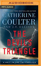 Catherine Coulter, J T Ellison DEVIL'S TRIANGLE Unabridged MP3-CD *NEW* 1st Ship