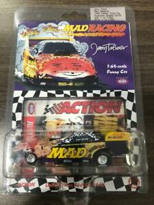 JERRY TOLIVER 1998 MAD MAGAZINE 1/64 ACTION DIECAST FUNNY CAR 1/8,056