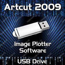 Artcut 2009 Software Vinyl Cutter Plotter Pro Sign Making Usb Drive