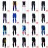 Men's Team Cycling Long Pants Bike Clothing Tights Bottoms Uniforms No Bibs Pad
