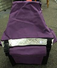 Canvas Mining Tool Bag/Crib Bag Hi Vis Purple toolbag HITOP 100% Australian Made