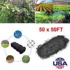 50'X50' Bird Netting Chicken Protective Net Screen Poultry Garden Aviary Game EC