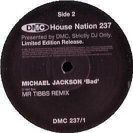 Michael Jackson - Bad (Remix) - DMC - 2002 #90656