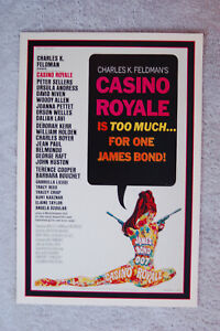 Casino Royale Lobby Card Movie Poster James Bond 007 __