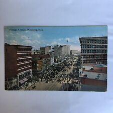 Portage Avenue Winnipeg Manitoba Postcard
