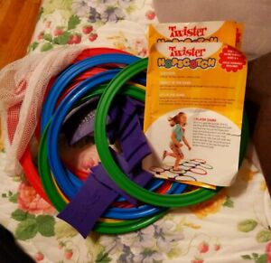 Twister Hopscotch Game All Parts But The Spinner  2008  parts are mint condition