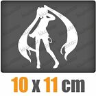 Manga Girl csf0471 10 x 11 cm JDM Pegatina