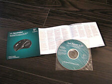 Logitech MX Revolution mouse software / owners manual