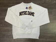 Champion Notre Dame Vintage Inside Out Reverse Weave Pullover Sweatshirt Mens S