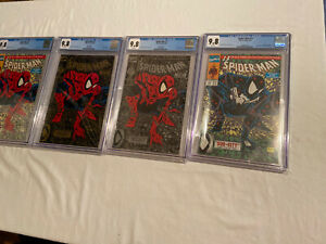 SPIDERMAN CGC lot of ( 4 books )