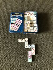 Collectors Dominoes 55 Shiny Jumbo Color / Colour Dot Dominoes Double Nine