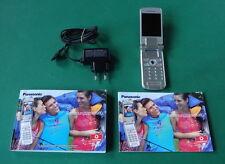 Panasonic VS3 Klapphandy mit Anleitung und Zubehoer ohne Simlock