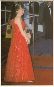 1981 ROYAL WEDDING POSTCARD DIANA PRINCESS OF WALES AND PRINCE CHARLES