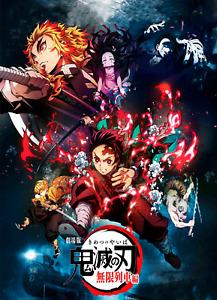 Demon Slayer Mugen Train Anime Poster Manga Art Print Wall Home Room Decor A3 A4