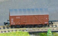"""ROCO  25031   DB covered goods wagon       """"BOXED""""  N Gauge"""