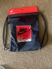 NEW Sack Gym Nike Heritage GMSK GFX BA6012 010 black Back Pack Sport Bags