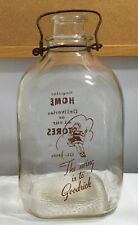 Vintage One Gallon Milk Bottle The Swing Is To Goodrich